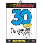 T-shirt dédicace anniversaire 30 ans