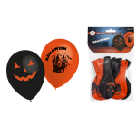 10 ballons halloween