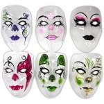 Masque transparent avec motifs