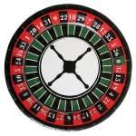 10 assiettes roulette