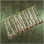 12 serviettes zombie