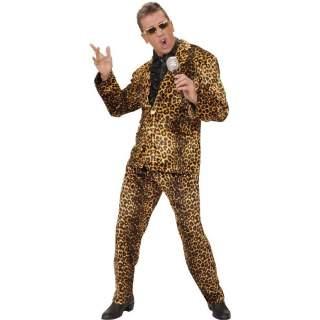 Déguisement pop star léopard