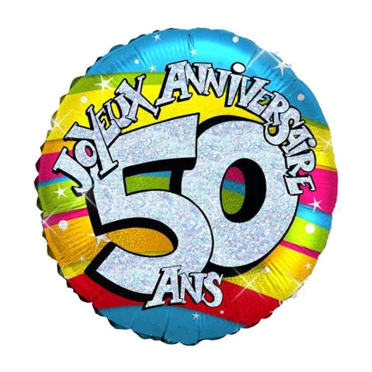 50 ans anniversaire