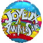 Ballon joyeux anniversaire