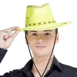 Chapeau cow-boy fluorescent