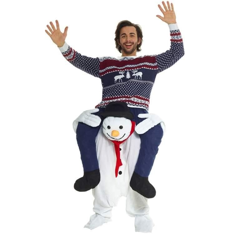 D guisement porte moi bonhomme de neige m ga f te - Deguisement sapin de noel ...