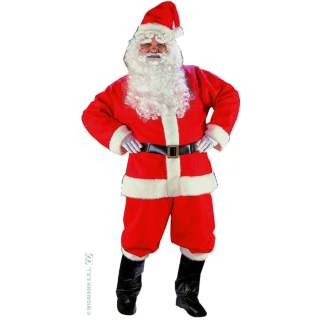 Costume Père Noël US peluche