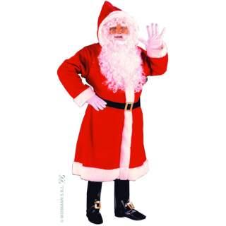 Costume Père Noël peluche