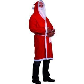 Déguisement Père Noël polyester
