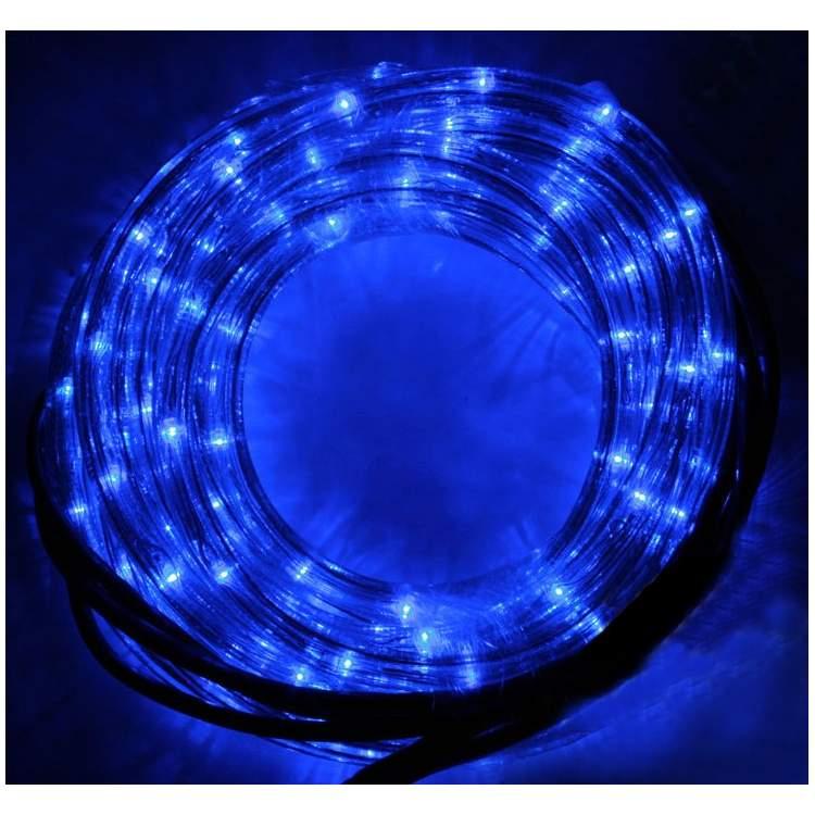 Guirlande tube 4m clignotante m ga f te for Guirlande lumineuse exterieur bleu