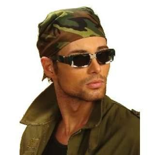 Bandana camouflage militaire m ga f te - Comment mettre un bandana homme ...