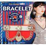 Bracelet avec chaîne et coeur