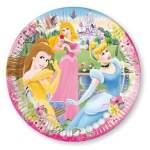 8 assiettes carton Princesses