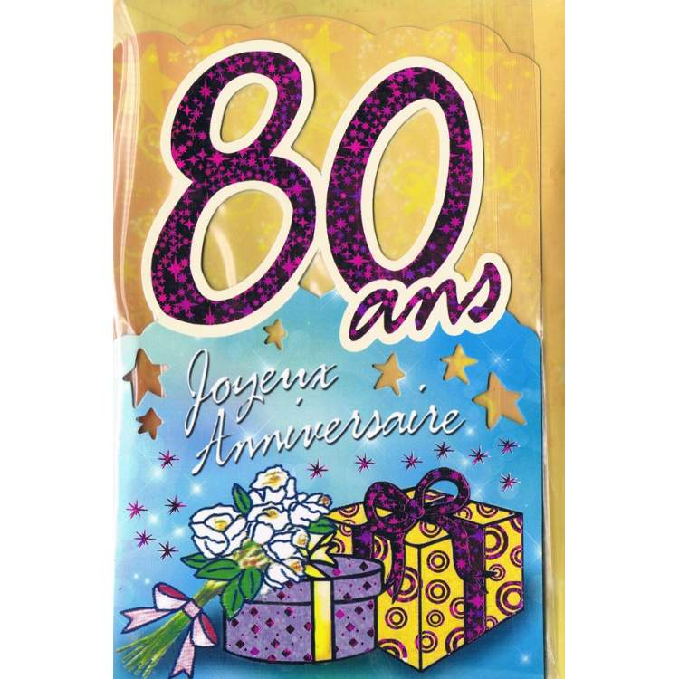 Carte d 39 anniversaire pour un homme de 80 ans - Carte anniversaire 80 ans gratuite a imprimer ...
