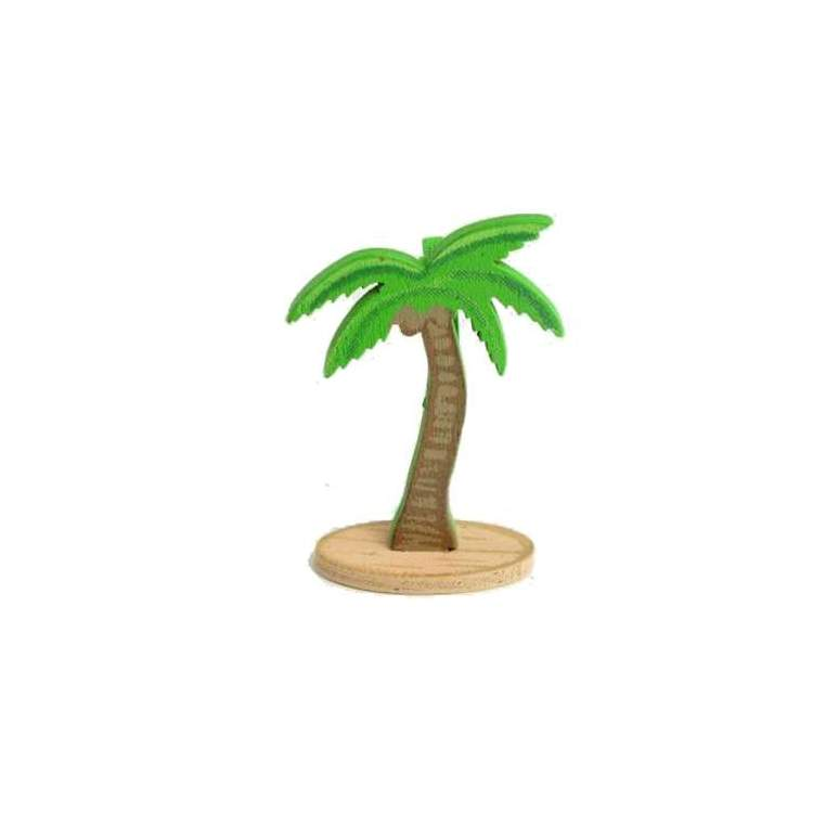 6 palmiers porte noms m ga f te for Faux palmier deco