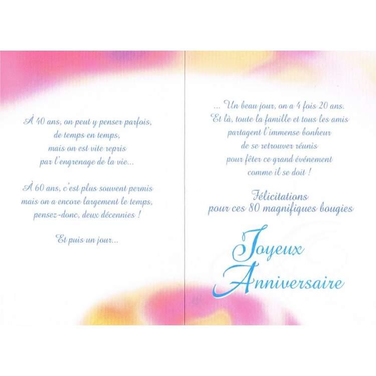 Lettre anniversaire maman 80 ans gosupsneek - Carte anniversaire 80 ans gratuite a imprimer ...