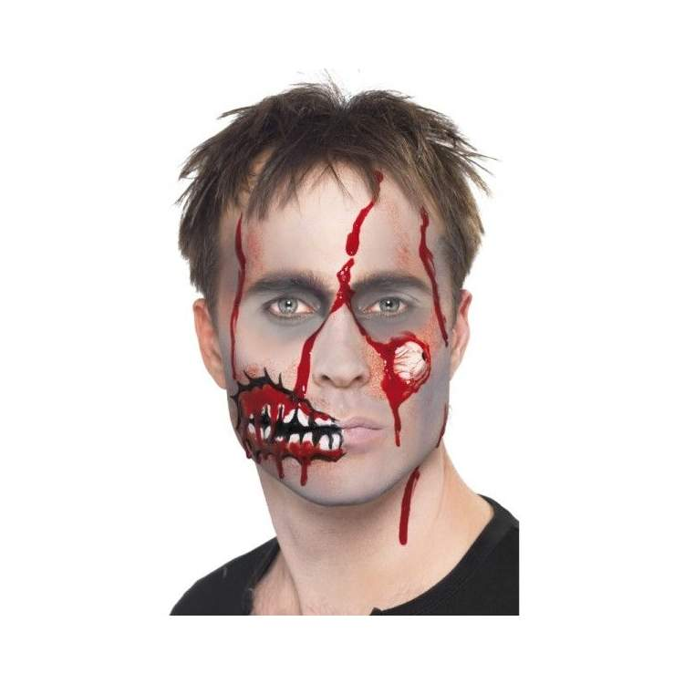 maquillage zombie prisonnier