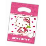 6 sachets anniversaire Hello Kitty